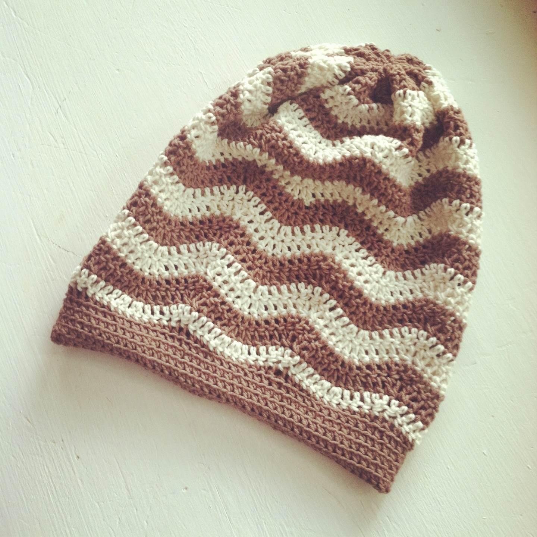 Crochet Chevron Baby Beanie Pattern Legitefo For
