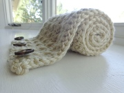 chunky cross stitch cowl lpcrochet